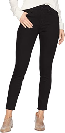 Tess High-Rise Super Skinny in Double Black Tribeca