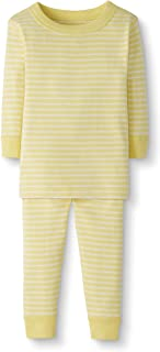 Baby/Toddler 2-Piece Organic Cotton Long Sleeve Stripe Pajama Set