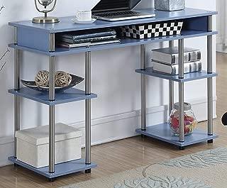 Convenience Concepts Designs2Go No Tools Student Desk, Blue (Renewed)