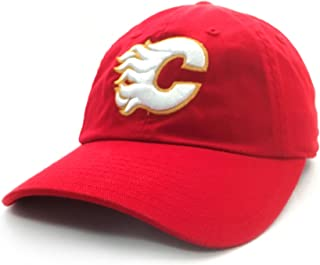 AMERICAN NEEDLE Calgary Flames - Mens Blue Line Snapback Hat