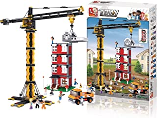 Sluban Tower Crane Building Set