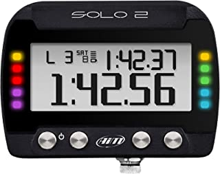 AIM Solo 2 GPS Lap Timer All New Much faster and more precise Configurable LED's