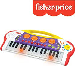 Fisher-Price – Teaching Keys Keyboard, Music Keyboard/Piano, Record and Playback, Learn to Play Piano, Toddler, Ages 3+