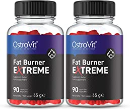Ostrovit Fat Burner Extreme 180 Capsules Thermogenic Weight Loss Slimming Pills Fat Tissue Reduction Energy Endurance Food Supplement Estimated Price : £ 26,70