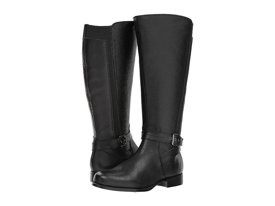 Naturalizer Jelina Wide Calf (Black Leather) Women