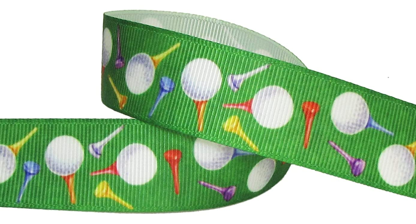 Golf Ribbon for Crafts - Hipgirl 7/8