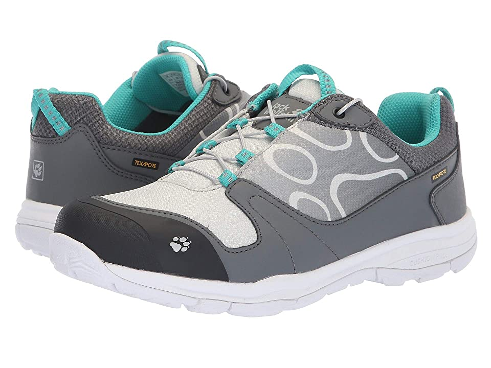 Jack Wolfskin Kids Grivla Waterproof Low (Toddler/Little Kid/Big Kid) (Tarmac Grey) Girls Shoes