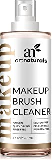 ArtNaturals Professional Makeup Brush Cleaner – (8 Fl Oz / 236ml) – Spray Removes Residue and Oils in a Quick Fashion for Smooth Application – Daily Essential Natural Solution for Powder and Creams