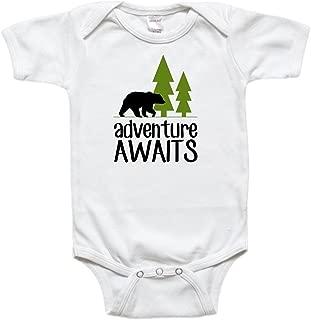 Baby Bodysuit Toddler Shirt - Adventure Awaits