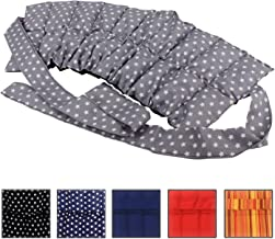 Almohada de Grano grande con Cintas - Cojín térmico