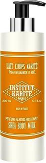 INSTITUT KARITE  Shea Body Milk ボディミルク 200ml Almond Honey アーモンドハニー