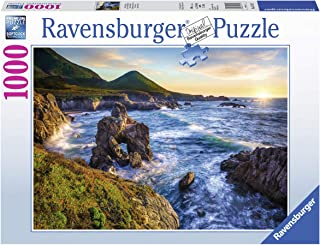 Ravensburger Big Sur Sunset 15287 1000 Piece Puzzle for Adults, Every Piece is Unique, Softclick Technology Means Pieces Fit Together Perfectly