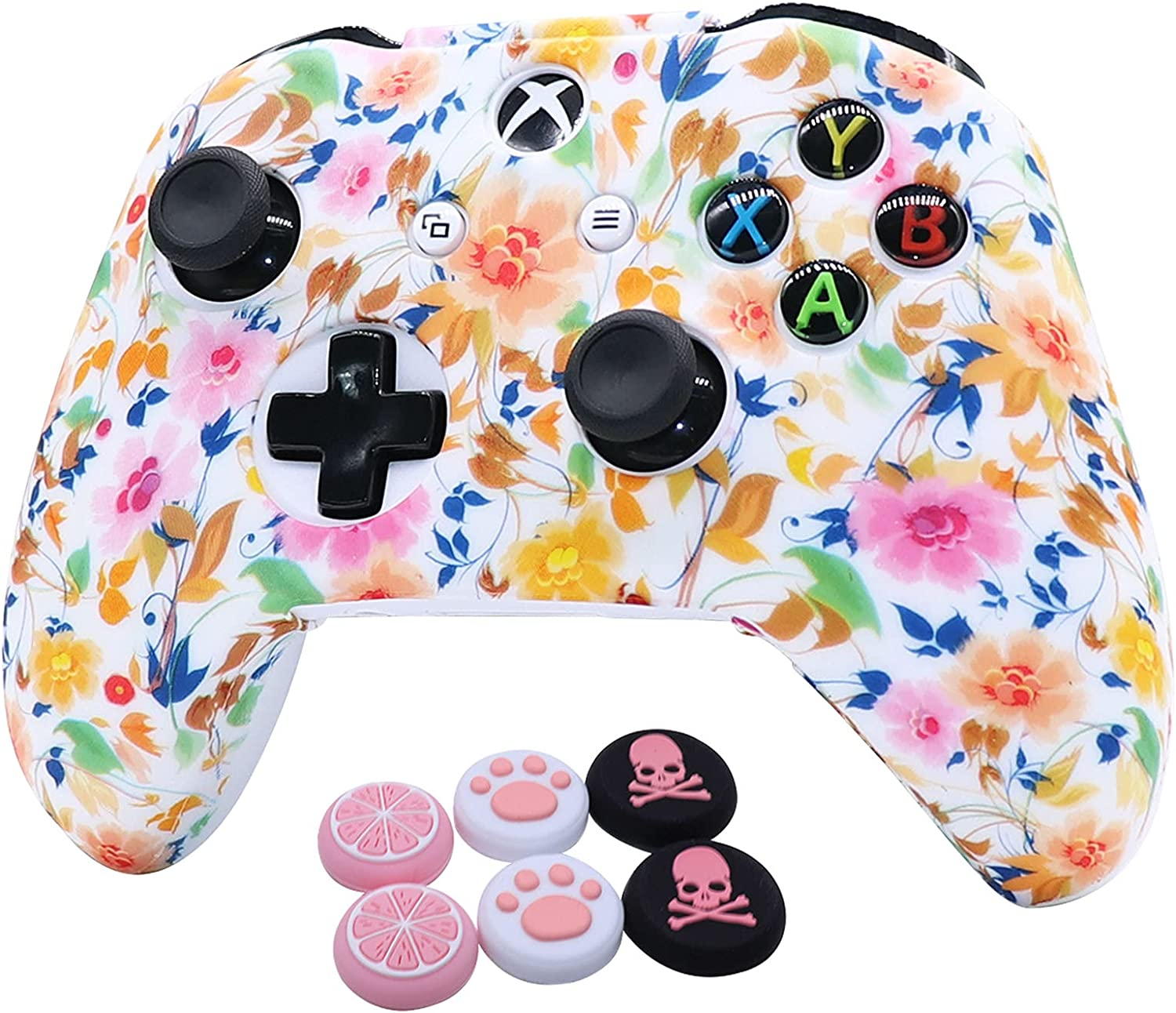 Pink Xbox Max 77% OFF online shopping One Controller Skins Silicone RALAN S Cover