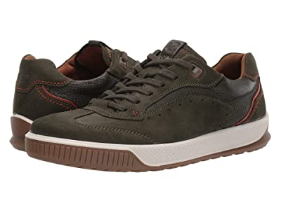 ECCO Byway Tred Urban Sneaker (Deep Forest/Deep Forest) Men