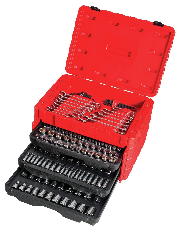 CRAFTSMAN Mechanics Tool Kit, 224 piezas (CMMT12038): Amazon.es: Bricolaje y herramientas