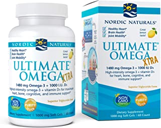 Nordic Naturals Ultimate Omega Xtra. 1480 Mg