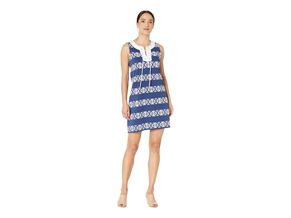 Tommy Bahama - Tommy Bahama Bungalow Geo Stripe Shift Dress