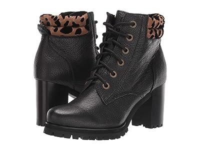 Kelsi Dagger Brooklyn Trek (Black Tumbled Leather) Women