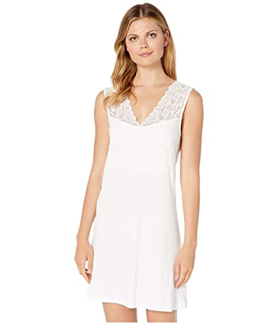 Hanro Moments Tank Gown (White) Women
