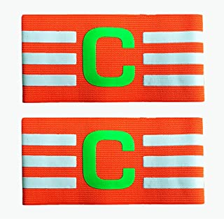 MAYFOO Soccer Captains Armband - Captain Arm Bands Wristband for Youth and Adult,Kids
