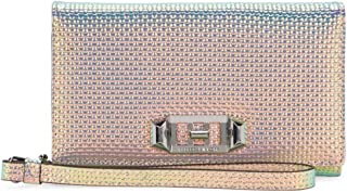 Rebecca Minkoff Love Lock Wristlet for iPhone 8, iPhone 7 - Holographic Leather - RMIPH-074-HL
