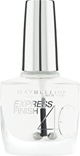 Maybelline Express Finish Nagellack - Esmalte de Uñas 01 / 01L color transparente 1 x 10 ml