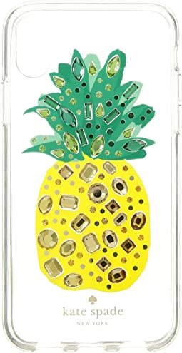 Jeweled Pineapple Phone Case for iPhone® X