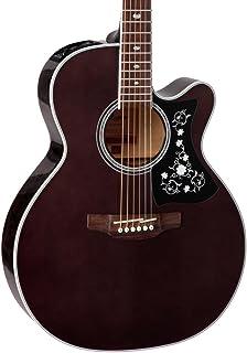 Best Takamine GN75CE TBK NEX Cutaway Acoustic-Electric Guitar, Transparent Black Review