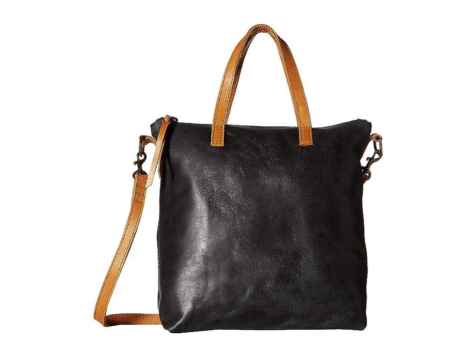 Image of ABLE Abera Commuter (Black/Cognac) Handbags