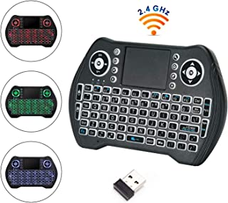لوحة مفاتيح ANEAR Mini اللاسلكية مع لوحة مفاتيح بإضاءة خلفية محمولة للكمبيوتر / الكمبيوتر المحمول / الكمبيوتر المحمول / ال...