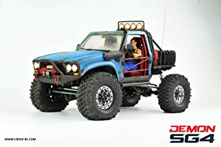 SG4B Demon 4x4 w Hard Body and Full Interior: 1/10 Scale 4WD Scaler Rock Crawler Pickup Truck Kit (Requires Assembly and Paint)