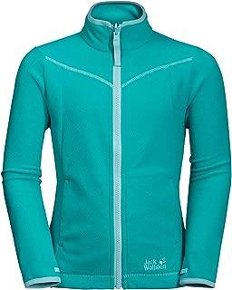 Jack Wolfskin Girl's Sandpiper Lightweight Fleece Jacket with System-Zip