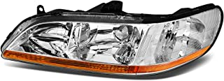 1Pc Driver/Left Side OE Style Chrome Housing Headlight Lamp for Honda Accord 98-02
