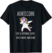 Aunticorn Like An Aunt Only Awesome Dabbing Unicorn T-Shirt