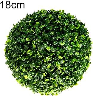 wintefei Fashion Artificial Greenery Grass Flower Ball Imitation Wedding Ceremony Party Decor - 18cm