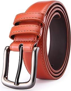 Orange Dress Brown Belt