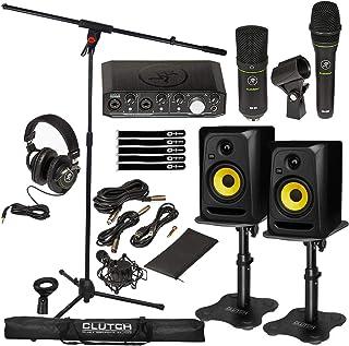 "Mackie Producer Bundle Home Studio Audio Interface Recording w CL5G3 5"" Monitors"