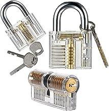 BOINN Transparant slot hangslot transparant Display Lock Crystal Lock