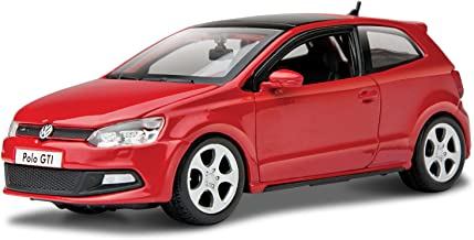Bburago 1:24 Scale Volkswagen Polo GTI Mark 5 Diecast Vehicle (Colors May Vary)