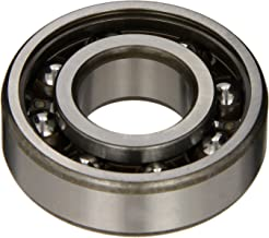 SKF 6204 TN9/C3 Radial Bearing, Single Row, Deep Groove Design, ABEC 1 Precision, Open, C3 Clearance, Plastic Cage, 20mm Bore, 47mm OD, 14mm Width