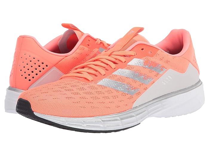 adidas Running  SL20 (Signal Coral/Silver Metallic/Core Black) Womens Running Shoes