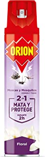 Orion Insecticida Para Insectos Voladores Con Fragancia Floral - 600 ml