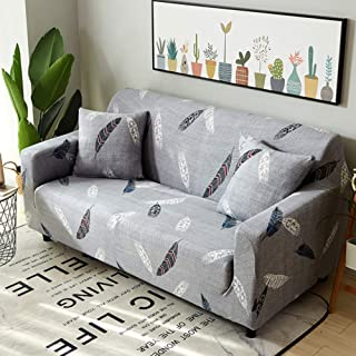 L-shape High Stretch Sofa Couch Cover,universal Sectional Couch Shield Elastic Couch Covers Sofa Slipcover Furniture Prote...