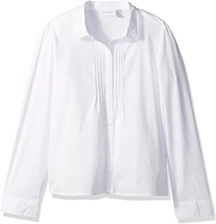 Girls' Uniform Long Sleeve Blouse