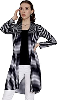 Western Stripe Cotton Shrug for Women/Girls