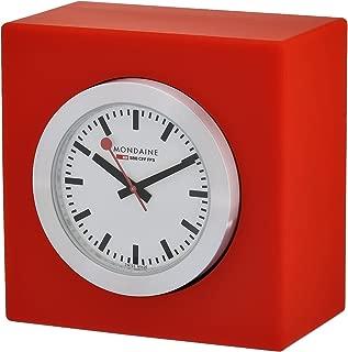 Mondaine A660.30318.84SBC Quartz Analog Watch Shelf Clock