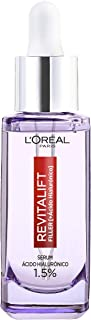 L'Oréal Paris Hyaluron Serum, Revitalift Filler, Anti-Ageing Face Care, Anti-Wrinkle with 1.5% Pure Hyaluronic Acid and Vi...