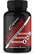 L-Arginine + L-Citrulline 1340mg Potent Nitric Oxide Formula - Supports Cardio Health, Nitric Oxide Production, Muscle Growth, Endurance and Energy Level - 60 Capsules