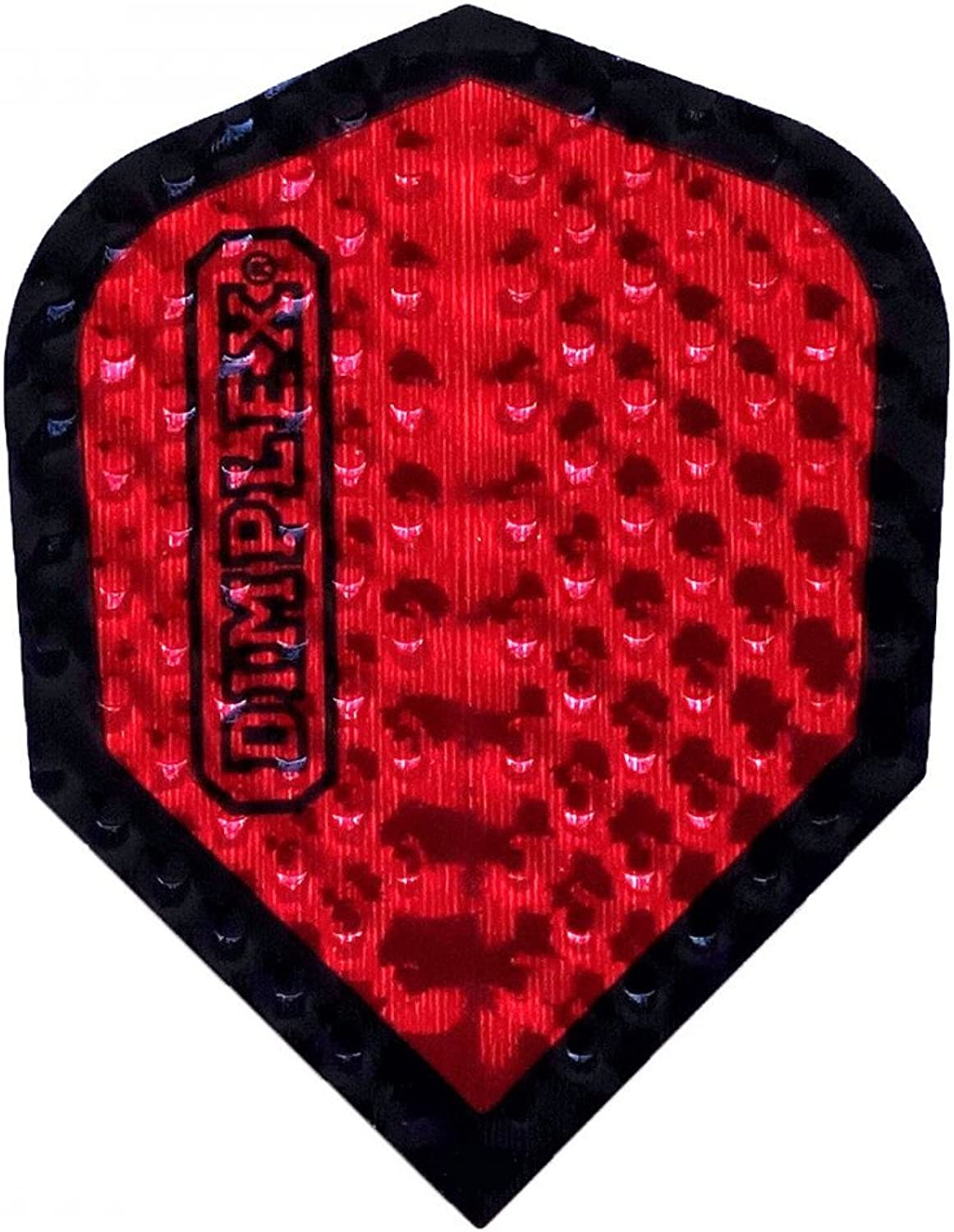 US Darts Harrows  3 Sets (9 Flights) Dimplex RED Standard Double Thick Dimpled Flights