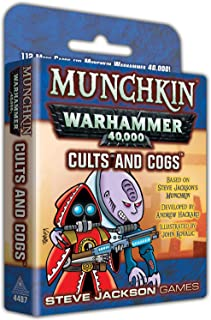 Steve Jackson Games Munchkin Warhammer 40,000 Cults and Cogs Card Game